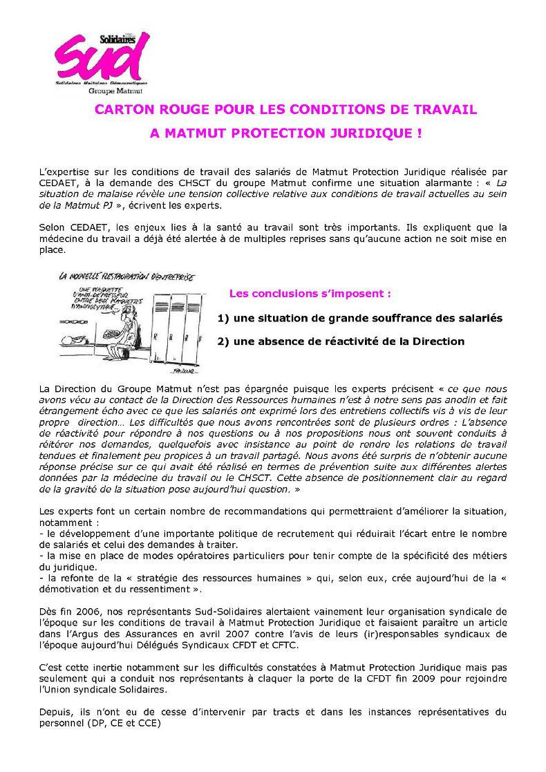 conditions de travail matmut protection juridique. Black Bedroom Furniture Sets. Home Design Ideas